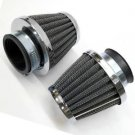2x 48mm Air Filter For Suzuki GS250T GS250E GSX250 GSX400E GS400 GS450 ATV Bike
