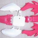 HONDA CRF 50 XR 50 XR50 CRF50 PLASTIC KIT FENDER Dirt Bike Pit Bike pink
