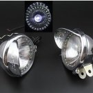 "Chrome 5"" Colorful LED Driving Passing Fog Head light Lamp Motorcycle Bonneville"