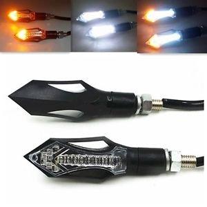 LED Running Turn Signal Lights Indicator Motorcycle  Street Bike For Kawasaki