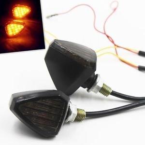 Universal LED Turn Signal Lights Indicator Blinker For Aprilia Yamaha Motorbike