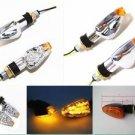 Amber LED Turn Signal Lights  Indicator FOR Yamaha Street Sport Bike Supermotor