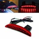 Red Chopped Fender Edge LED Tail Light For Harley Sportster 1200 N V 883 XL883N