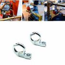 """1"""" Handlebar Turn signal / Mirror Clamps mount For Harley Dyna Sporster Softail"""