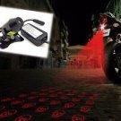 Motorcycle Skull Preventing Rear End Collision Tail-crash-proof Laser FOG Light