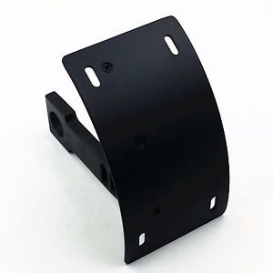 Swingarm Side Mount Curve License Plate Bracket For Kawasaki ZX 6R 12R 7R 9R 14R