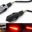 Amber Red LED Turn Signal Light Running Brake Tail Light Chopper Bobber Touring
