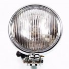 "High Low Beam LED Headlight Lamp For Harley Honda Kawasaki Motorcycle Chrome 5"""