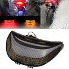 Motorcycle Led Tail Running Brake Turn Signal Light For Yamaha YZf-R6 SMOKE