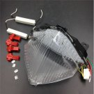 Motorcycle LED Tail Brake Light Turn Signal for Yamaha YZF-R1 2004-2006 Clear