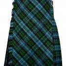 40 Size Bias Apron Traditional 5 Yard Scottish Kilt for Men –Campbell Ancient Tartan