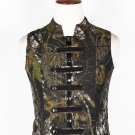 44 Size Jungle Camo Military Style Men's Tactical Sleeveless Cotton Vest