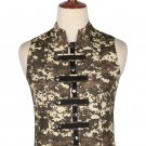 38 Size Digital Camo Military Style Men's Tactical Sleeveless Cotton Vest