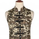 46 Size Digital Camo Military Style Men's Tactical Sleeveless Cotton Vest
