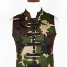 36 Size Army Camo Military Style Men's Tactical Sleeveless Cotton Vest