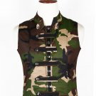 52 Size Army Camo Military Style Men's Tactical Sleeveless Cotton Vest