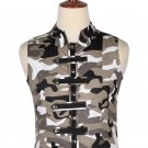 46 Size Urban Camo Military Style Men's Tactical Sleeveless Cotton Vest