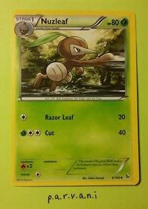 Flashfire Pokemon Card - Nuzleaf (6 of 106)