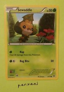 Phantom Forces Pokemon Card - Sewaddle (5/119)