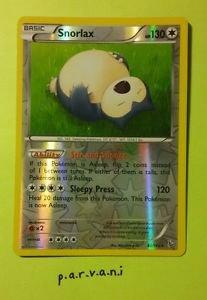 [REVERSE HOLO] Flashfire Pokemon Card - Snorlax (80/106)