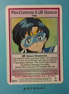 Sailor Moon Collectible Card Game - Mini-Computer & VR Goggles (44/160)