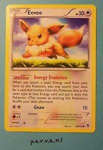 Furious Fists Pokemon Card - Eevee (80 of 111)