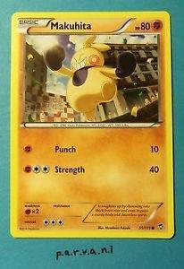 Furious Fists Pokemon Card - Makuhita (51 of 111)