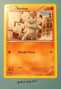 Furious Fists Pokemon Card - Machop (44 of 111)