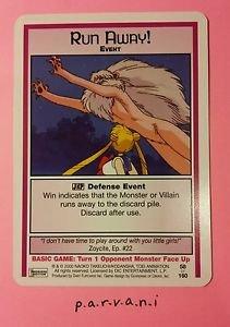 Sailor Moon Collectible Card Game - Run Away! (58/160)