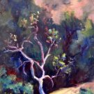 """Standing Alone"" Original Plein-Air Calif Landscape Painting by Listed Acosta Artist"