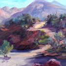 "A Favorite: ""Catalina State Park Trail"" NEW Original Plein-Air Landscape Oil Painting by Geri Acosta"