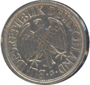 Germany 1950G 1 Mark XF