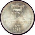 Germany 1971D 5 Mark UNC