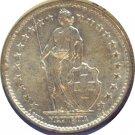 Switzerland 1965 2 Francs Unc