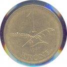 Denmark 1945 1 Krone XF