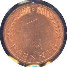 Germany 1950 G Pfennig BU