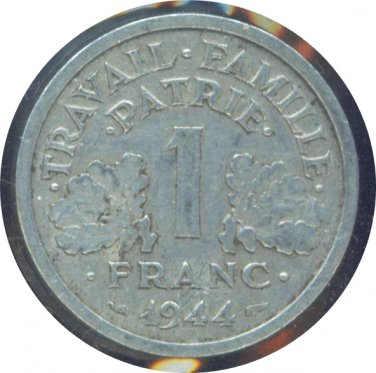 France 1944 1 Franc