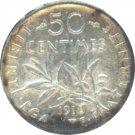 France 1918 50 Centimes BU