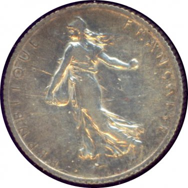 France 1918 1 Franc AU