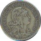 Portugal 1928 1 Escudos VF