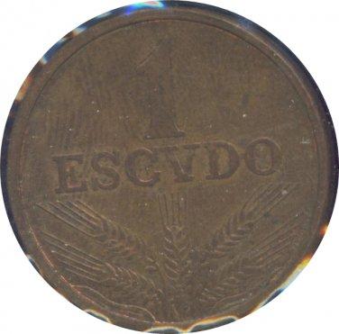Portugal 1972 1 Escudos Unc
