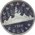 Canada 1984 Proof Dollar