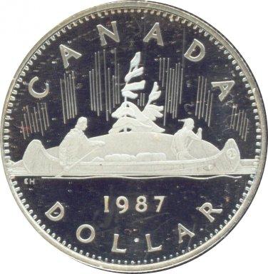 Canada 1987 Proof Dollar
