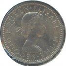 New Zealand 1961 6 Pence Unc