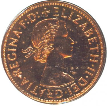 Great Britain 1970 1 Penny Proof