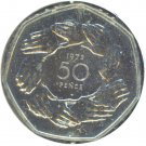 Great Britain 1973 50 Pence Proof