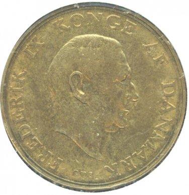 Denmark 1957 2 Kroner XF