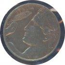 Italy 1921 20 Centesimi VF