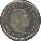 Switzerland 1977 5 Rappen Proof
