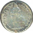 Switzerland 1959 1/2 Franc UNC